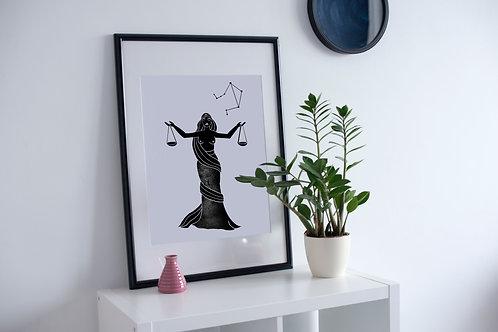 'Libra' Print