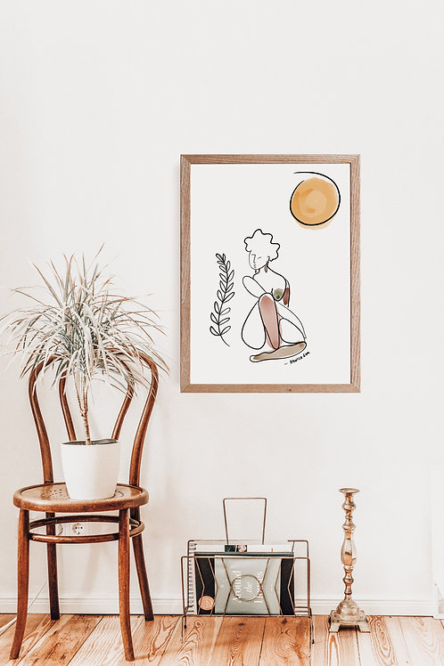 'I Can Smell The Sun' Print
