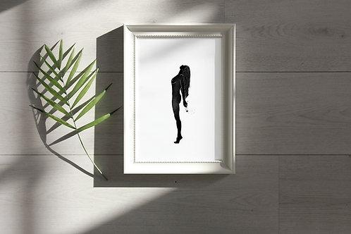 'Dandelion Girl' Print