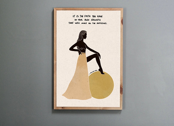 'Your Strength' Print