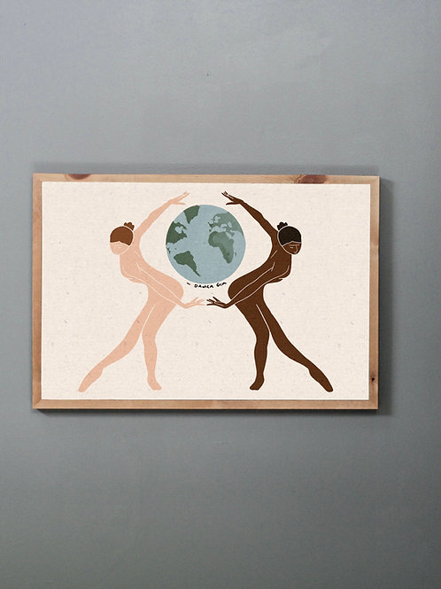 'Until We Are All Free' Print