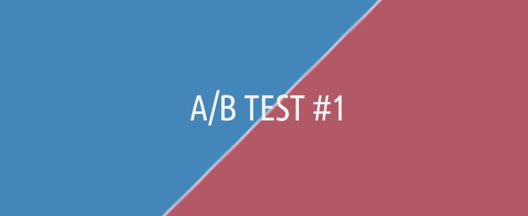Sprievodca A/B testami #1