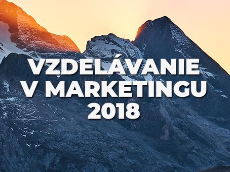 Vzdelávanie v marketingu 2018