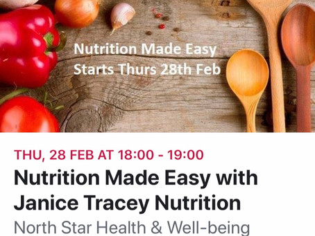 Nutrition Course  Nutrition Made Easy