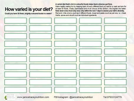 The 50 Foods Challenge