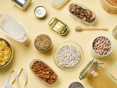 Store Cupboard Staples - Staying At Home Nutrition Tips