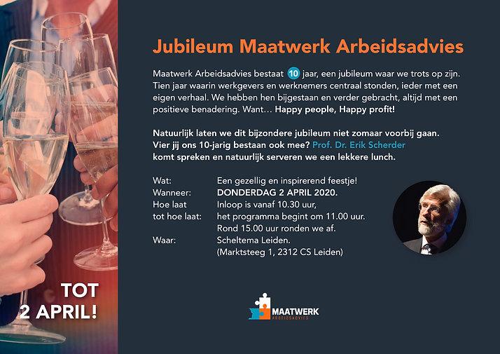 A4 Digitale uitnodiging-Maatwerk Arbeids
