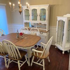 Dining Room Furniture Makeover