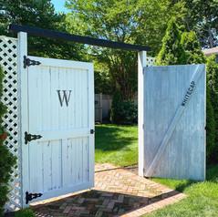 Barn Doors at Whitecap