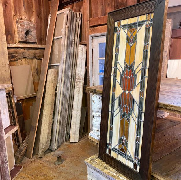 Custom Framed Stained Glass