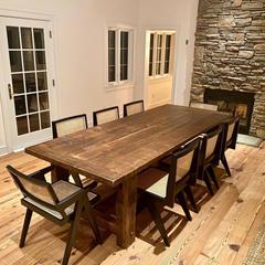Custom Built Reclaimed Farm Table