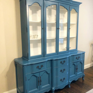 Two Toned Hutch