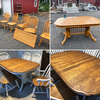 Dining Room Furniture Refinished