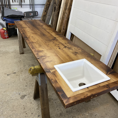 Custom Reclaimed Bar Top Counter