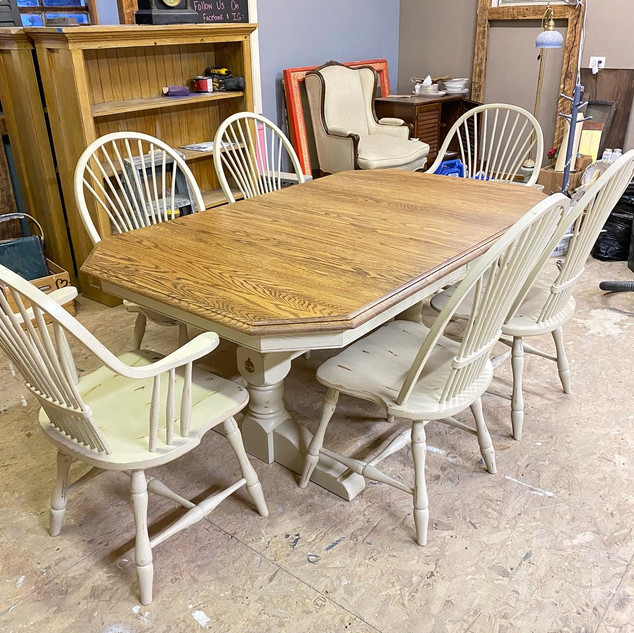 Custom Table & Chairs Refinished
