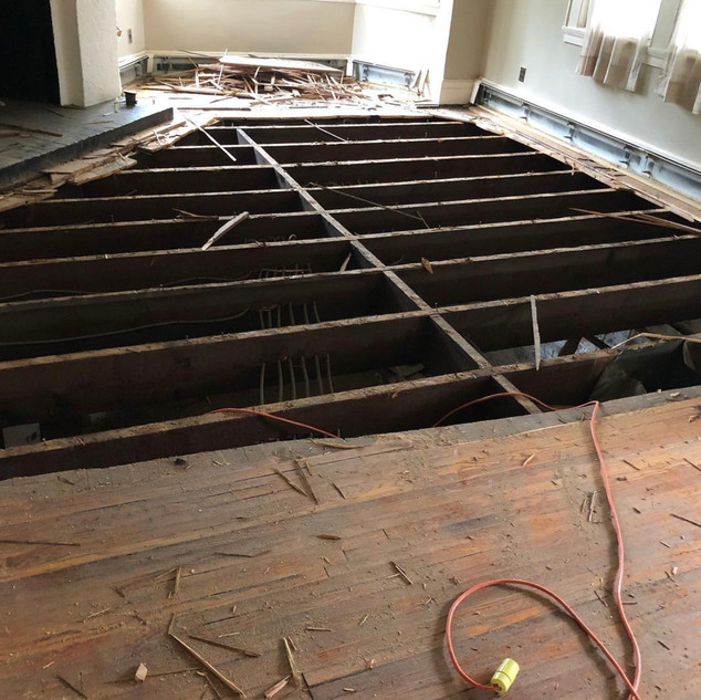 Salvaging Some Floor Boards