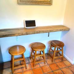 Reclaimed Bar Counter