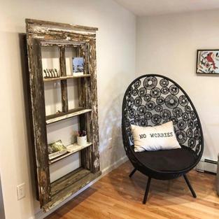 Window Frame Bookshelf