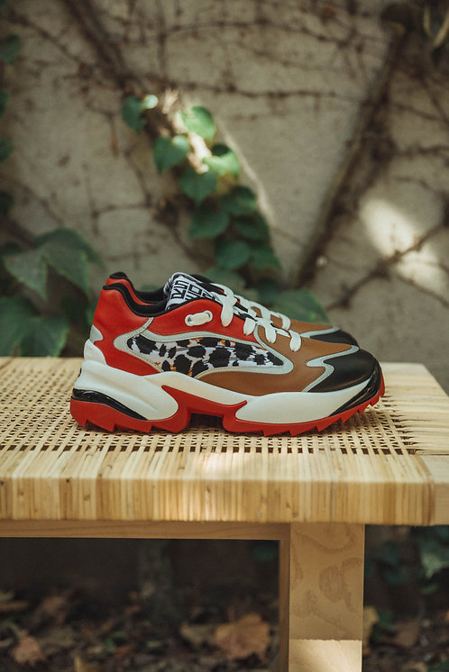 Sergio Rossi chunky sneakers multicolor