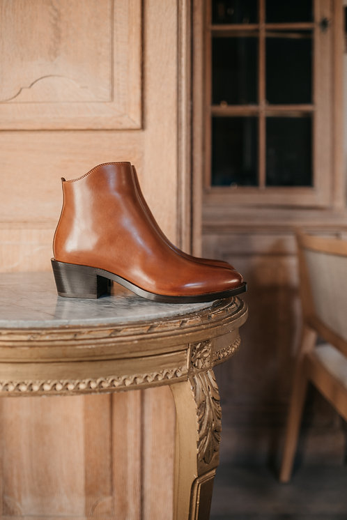 Sartore ankle boots - camel