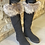 Thumbnail: Anthracite boots furr