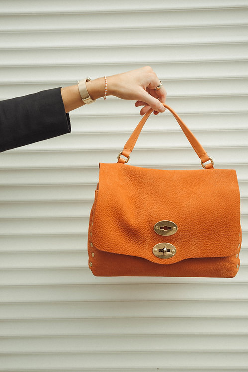 Zanellato Postina small suede orange