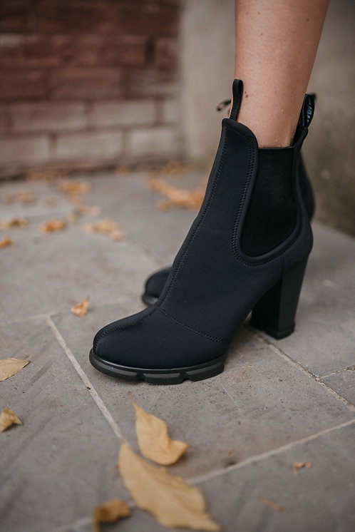 Prada ankle boots - dark blue neoprene