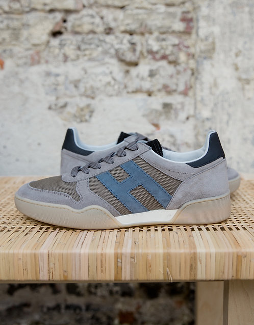 Hogan H357 sneakers taupe/jeans