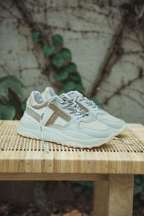 Tod's sneakers multicor lila/beige