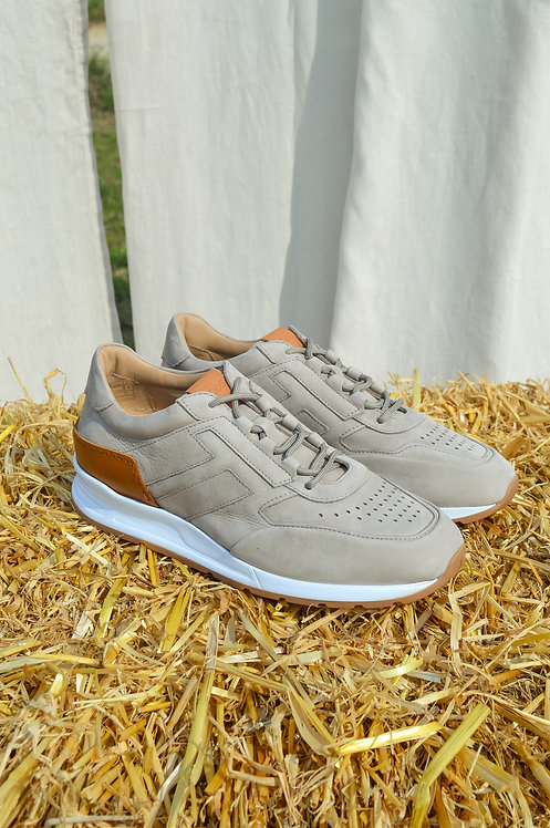 Tod's grey sneaker nubuck