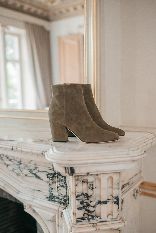 Sergio Rossi ankle boots - Kahki daim