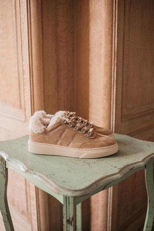 Hogan sneaker - beige/wool
