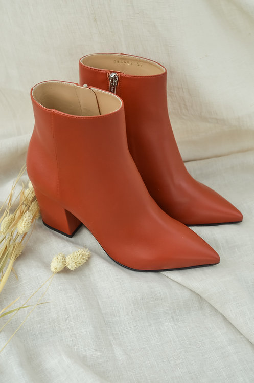 Sergio Rossi rust boots