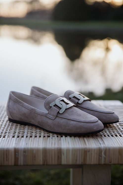 Tod's mocassin nude