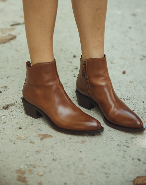 Sartore ankle boots brown