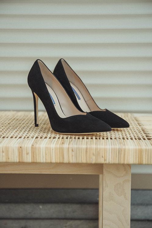 Stuart Weitzman heels suede black