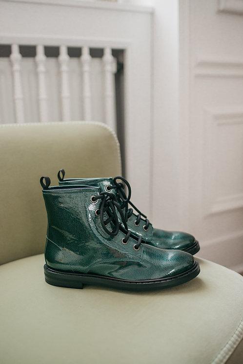 AGL boots - metallic green