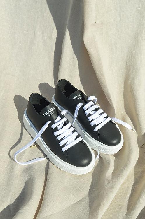 Prada Montana black sneakers
