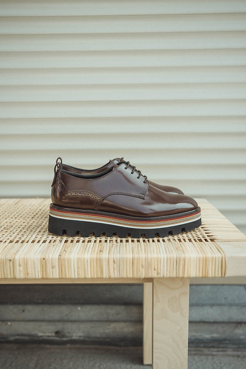 Fratelli Rossetti lace up brown