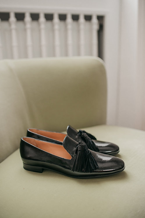 Fratelli Rossetti loafer - black patent leather