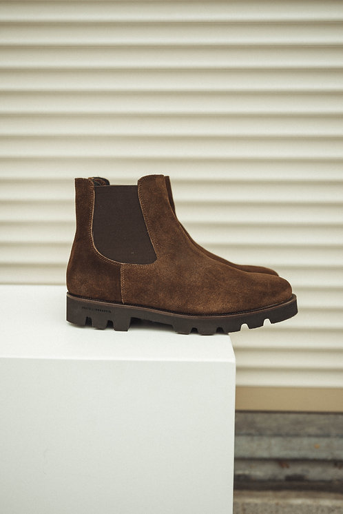 Fratelli Rossetti bottin suede brown
