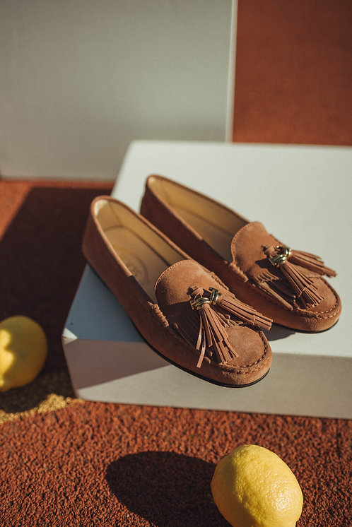 Tod's City Gommino brique