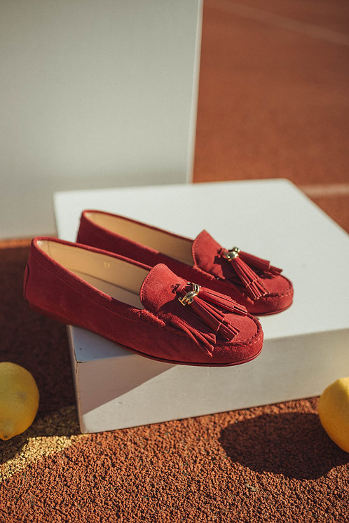 Tod's loafer red