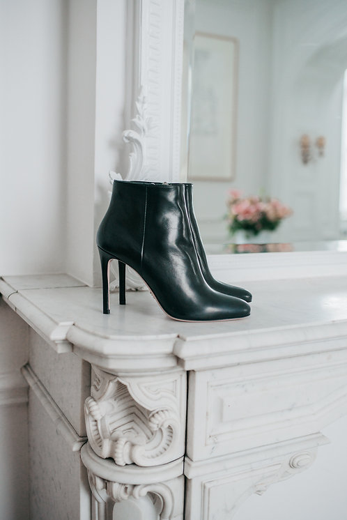 Prada ankle boots - black leather