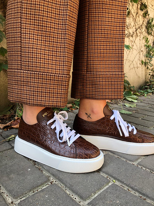Prada Montana sneakers brown