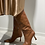 Thumbnail: Lola Cruz cognac knee high boots