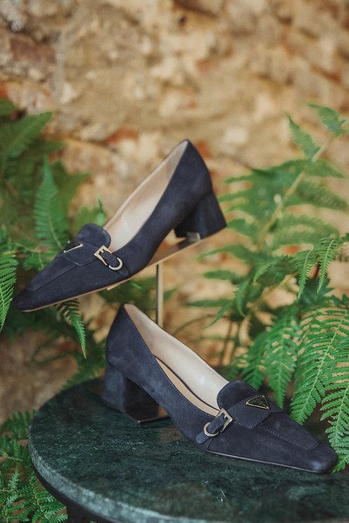 Prada heels blue