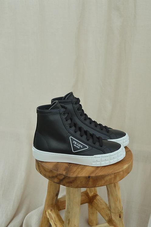 Prada high-top sneaker black