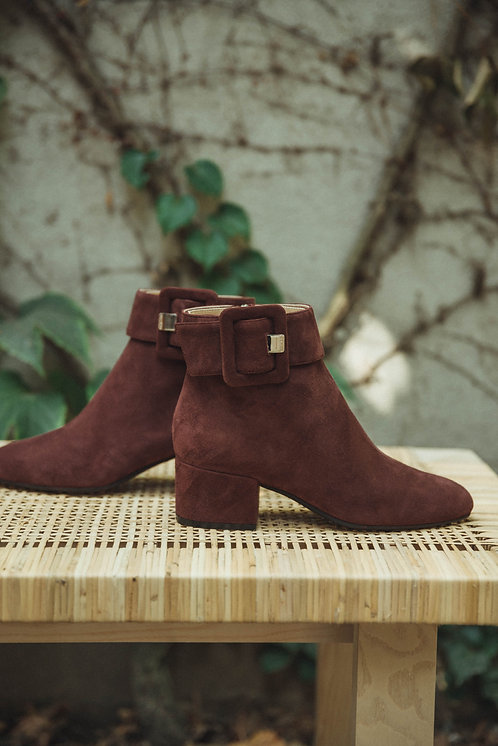 Sergio Rossi Boots Burgundy