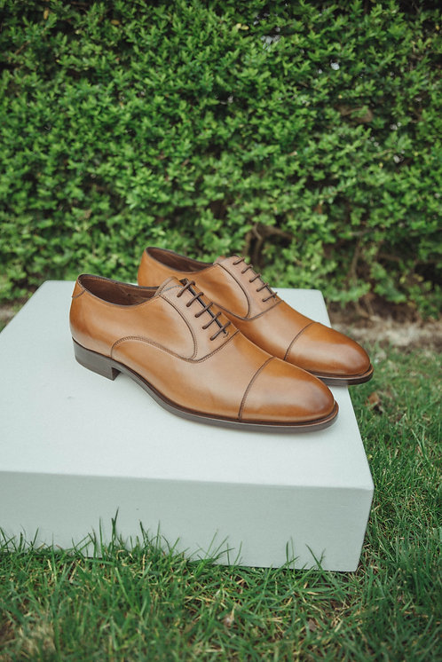 Fratelli Rossetti lace-up camel